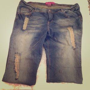 Pure Energy Denim - Women's PLUS Denim Jeans