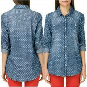 Vans Tops - Vans Polka Dot shirt