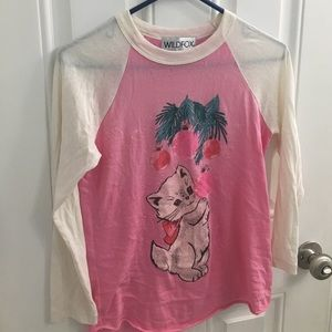Wildfox shirt xs