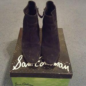 Sam Edelman Shoes - Sam Edelman Black suede booties