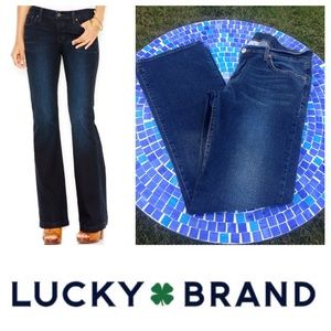 GREAT SHAPE!  Lucky Brand Midrise Flare jeans