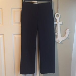 J. Crew Pants - J. Crew Sleek Black Slacks!
