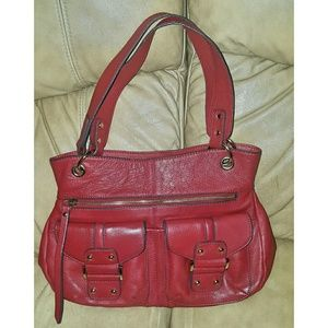 Franco Sarto Handbags - Franco Sarto Romy Leather Tote Bag