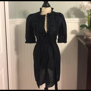 ALICE by Temperley Dresses & Skirts - Black quarter sleeve shirt dress