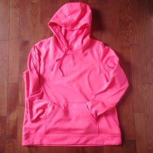 Xersion M neon pink hoodie