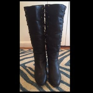 Shoes - Black boots with studs