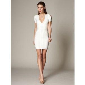 Herve Leger Dresses & Skirts - Herve Leger Wynn Slit Sleeve Dress XXS