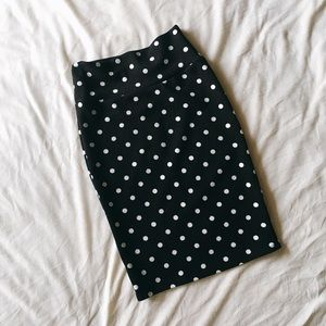 LuLaRoe Dresses & Skirts - Polka Dot Pencil Skirt