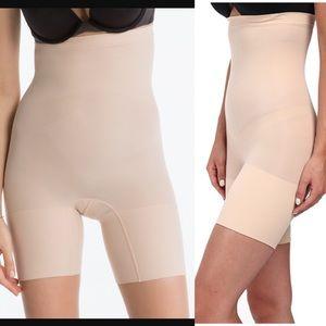 SPANX $38 higher power short shapewear soft nude