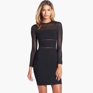Dresses & Skirts - Bandage and mesh bodycon dress