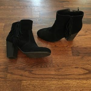 Shoes - Fringe booties!