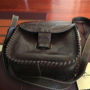 Patricia Nash Handbags - Patricia Nash Italian Leather Crossbody Purse