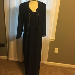 Patra Dresses & Skirts - BNWT Mother of the bride Navy long dress