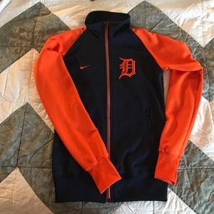 Jackets & Blazers - Women's Detroit Tigers Nike track jacket