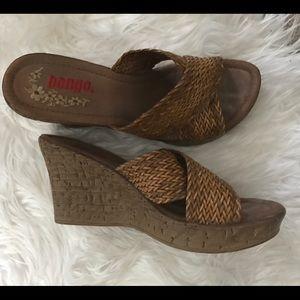 BONGO Shoes - Braided Wedges