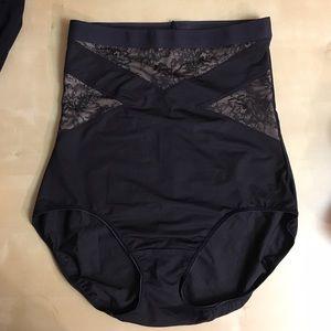 f2e74c1b020 Cacique Intimates   Sleepwear - Shape CACIQUE illusion high waist brief  lace 14 16