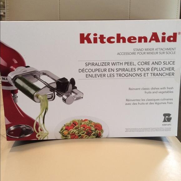 Kitchenaid Other New In Box Spiralizer Attachment Poshmark