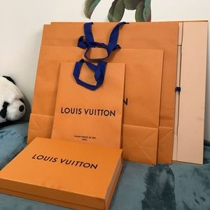 Louis Vuitton Other - 3 Louis Vuitton Shopping Bags & 2 Gift Boxes