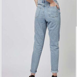 TOPSHOP MOM Moto Jeans
