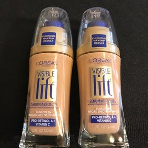 L'Oreal Other - L'Oréal Visible Lift Foundations. New 148 & 152