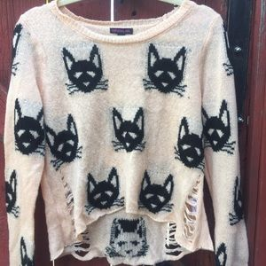 Forever 21 Sweaters - Cat Sweater
