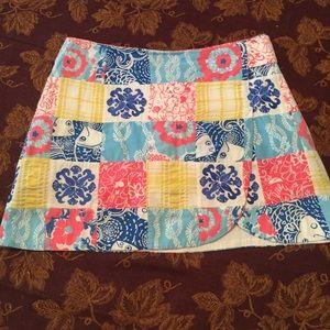Lilly Pulitzer Dresses & Skirts - Lilly Pulitzer Checkered pattern Skort 🌺 EUC