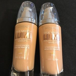 L'Oreal Other - L'Oréal True Match Lumi Foundations. New W3 & W4