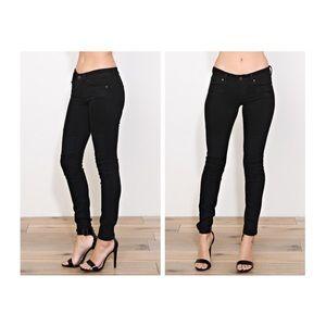 Francesca's Collections Denim - Black Motto Skinny Jeans