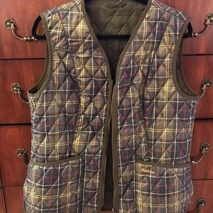 Barbour Jackets & Blazers - Barbour vest, wax jacket insert, USA Sz 12