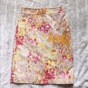 J. Crew Dresses & Skirts - J. Crew Sunshine Peony Pencil Skirt