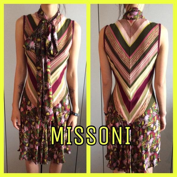 1cf5c451bd M by Missoni Dresses   Skirts - MISSONI - FINAL REDUCTION Knit   Silk Dress