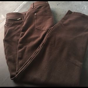 Chico's Pants - Women's Chico's SO Slimming Brown Pants