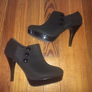 Unlisted Shoes - Never worn- black ankle boots