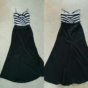 JS Collections Dresses & Skirts - JS collection 2 pc Formal dress top skirt Us 6