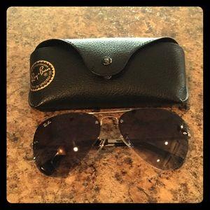Ray-Ban Accessories - Ray ban Aviator black / silver sunglasses