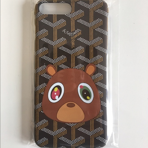 the latest 8a1a1 de377 Goyard Kanye Iphone 7 Plus Phone Case NWT