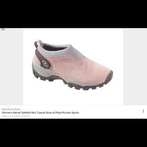Merrell  Shoes - MERRELL SATELLITE MOC PALE PINK