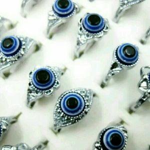 Jewelry - 🔴 Evil Eye Amulet Rings