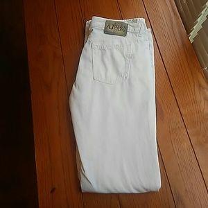 Armani Jeans Denim - Wonen's Armani AJ White Jeans - Size 31