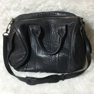 Alexander Wang Handbags - Black Alexander Wang Rocco with Ruthenium Hardware