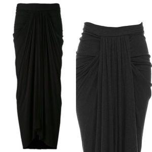 Fashion Nova Dresses & Skirts - Long Gathered Maxi Goddess Skirt