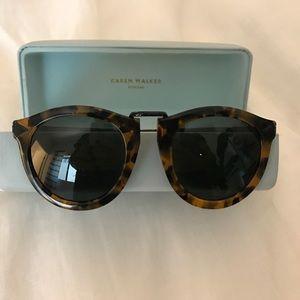 Karen Walker Accessories - Karen Walker Tortoise Sunglasses