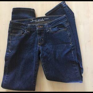 "Anchor Blue ""Jasmine"" Skinny Jeans"
