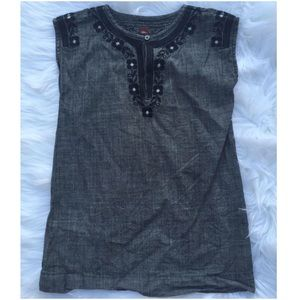 Tea Collection Other - Boutique Tea Collection Embroidered Tunic Sz 6