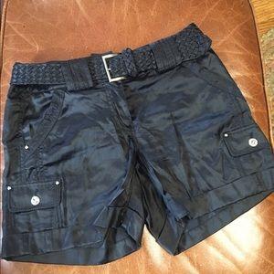 White House Black Market silk shorts