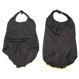Miraclesuit Other - Miraclesuit Black Halter One Piece Swimsuit