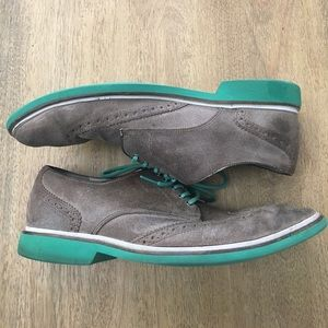 Cole Haan Other - Cole Haan Nike Men's grey Oxford dress shoes 10.5