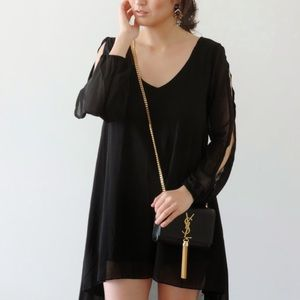 Dresses & Skirts - Gorgeous black lbd with arm cutouts
