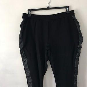 Sejour Pants - Faux Leather Lined Leggings