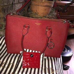 henri bendel Handbags - HENRI BENDEL WEST 57th CARRYALL-double zipper BNWT
